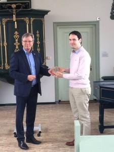 Uitreiking van de prestigieuze Van der Lijn onderscheiding aan Allart van Viersen