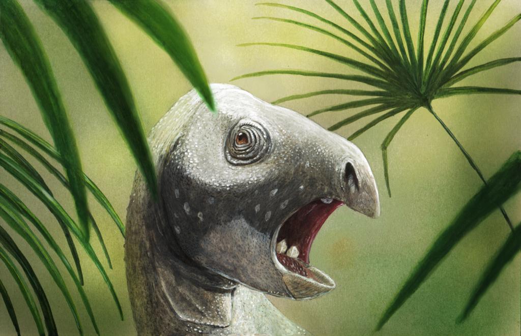 Matheronodon (afbeelding door Joshua Knüppe)
