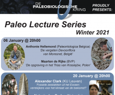 Paleo Lecture Series Winter 2021